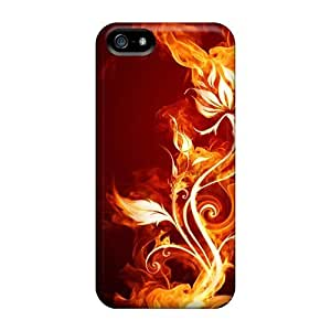 Maria N Young ZlGhLwO750uNPEd Case For Iphone 5/5s With Nice On Fire Appearance