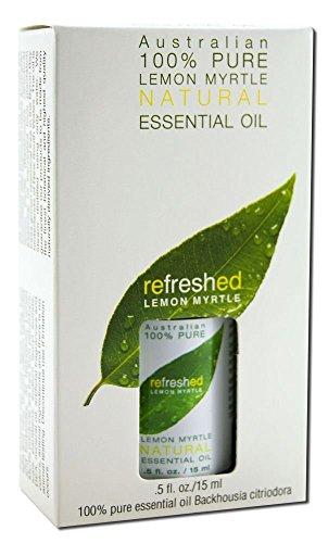 Tea Tree Therapy Lemon Myrtle 100% Natural Essential Oil -- 0.5 fl oz