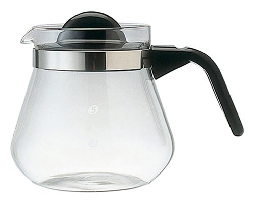 800 6 cups of Melitta coffee pot glass Lina (japan