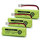 GEILIENERGY BT183482 BT283482 Ni-MH Cordless Phone Battery Compatible with Vtech DS6401 DS6421 DS6422