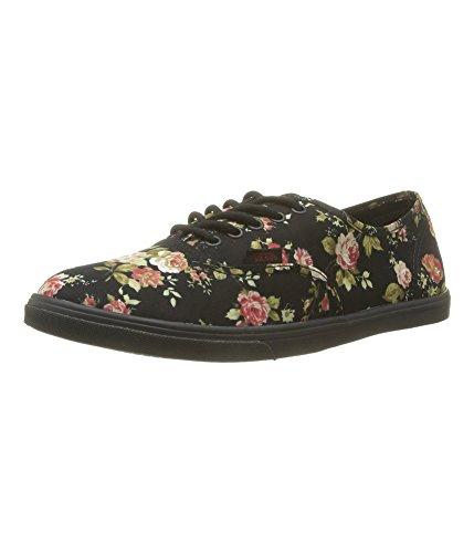 Vans Unisex Authentic Lo Pro Skate Shoe-Floral Black/Black-5