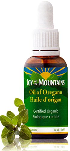 Oregano Oil - 1 Oz / 30ml, 100% Certified Organic