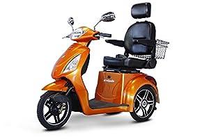 E-Wheels EW-36 3-Wheel Electric Senior Mobility Scooter - Orange from Ewheels