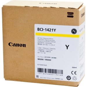 Canon INKS, BCI-1421Y, YELLOW INK TANK