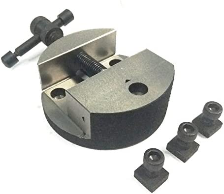 100 mm Factory 100 mm Round Vice For 4 Rotary Milling Indexing Table with 3 x M5T nuts Bolts