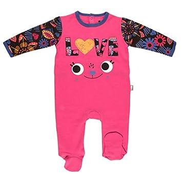 Pyjama bébé molleton Chachacha - Taille - 3 mois (62 cm) Petit Béguin