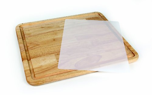 Camco Hardwood Cutting Board and Stove Topper With Non-Skid Backing, Includes Flexible Cutting Mat (Stove Dog)