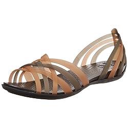 crocs Women's 14121 Huarache Flat