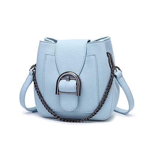 Semplice Moda Borsa Yxpnu Secchiello Coreana Da Catena Moda Blue Versione Casual Donna Xdzrqznwxa