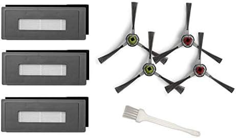 Kit de Cepillos Filtros y Mopas Pack de 16 PCS MTKD/® Kit de Recambios para Aspiradora Ecovacs Deebot OZMO 900