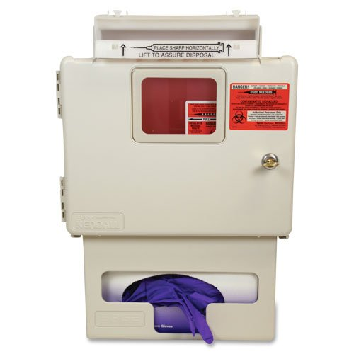 44dde1510183 Amazon.com: Sharps Container System, Locking, Glovebox, Wall Mount ...