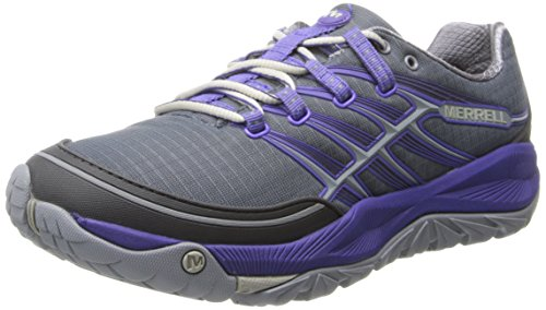 Merrell Women's All Out Rush Trail Running Shoe,Dark Slat...