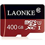 LAOMKE 400GB Micro SD Card High Speed Class 10 Memory Card Micro SD SDXC Card with Free Adapter