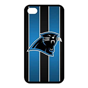Custom Carolina Panthers NFL Back Cover Case for iphone 4,4S JN4S-1255
