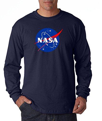 nasa-meatball-logo-long-sleeve-shirt-space-shuttle-rocket-science-geek-tee-large-navy