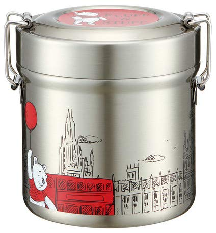 - Vacuum Stainless Steel Lunch Box 480ml [Pooh London)]
