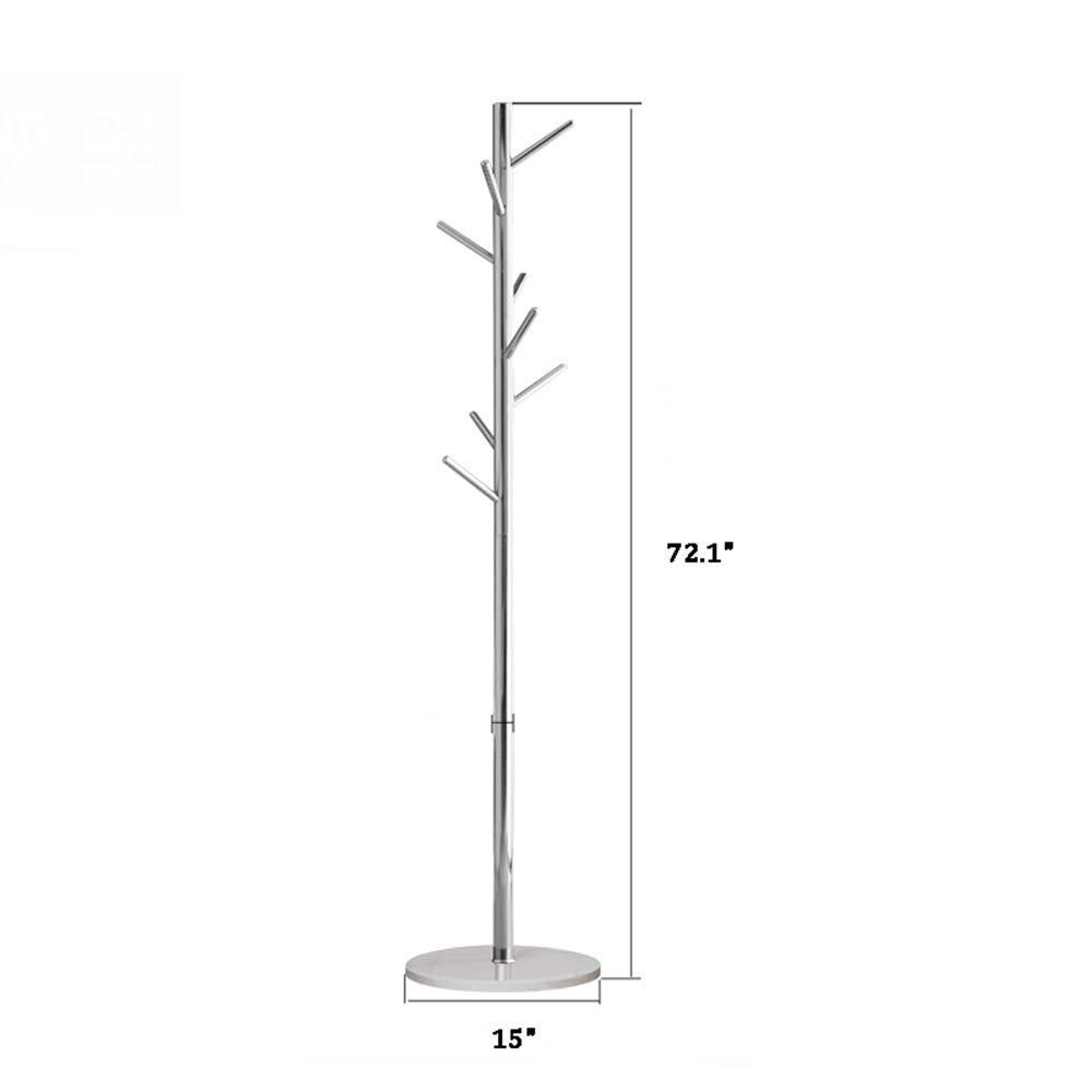 Amazon.com: Floor hanger - Stainless Steel Marble Coat Rack ...