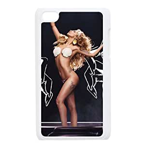 C-EUR Customized Phone Case Of Lady Gaga For Ipod Touch 4 by mcsharks