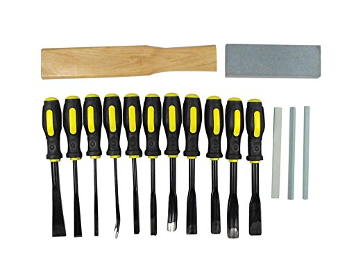 SE 7716WC 16-Piece Professional Quality Wood Carving Chisel - Mall Stores Gardens At