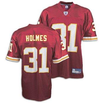 Kansas City Chiefs Priest Holmes #31 NFL Replica Jersey by Reebok (Adult Medium)
