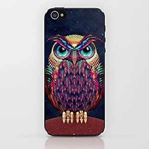 LIMME Pineapple Owl Pattern Hard Case for iPhone 5/5S