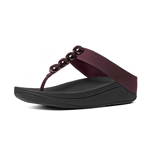 Tongs Rola maroon Femme Purple FitFlop Various P8Aqv6W5