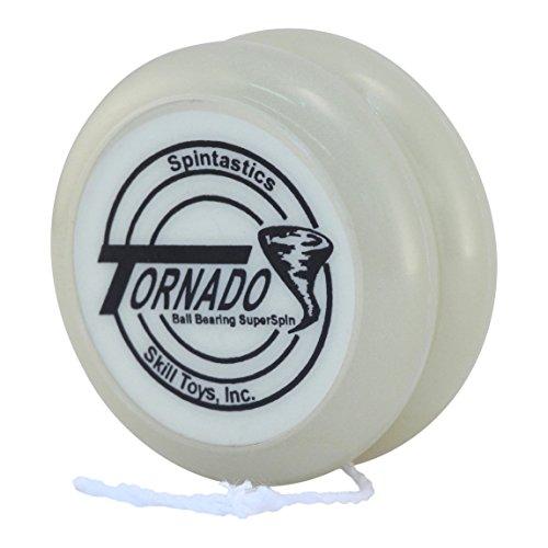 Spintastics Tornado 2 Ball Bearing Pro Glow in The Dark Responsive Yoyo -