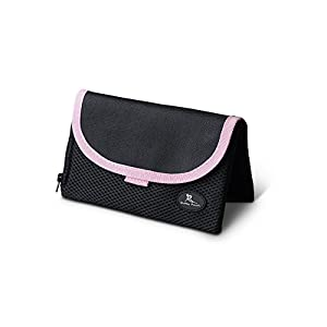 "[Highly Rated] Running Buddy - ""Buddy Pouch"" Pink (6""L x 4""W) Patented Magnetic Storage Pouch"