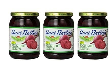 Aunt Nellies Pickled Beets, 16 Ounce (Pack of 3)