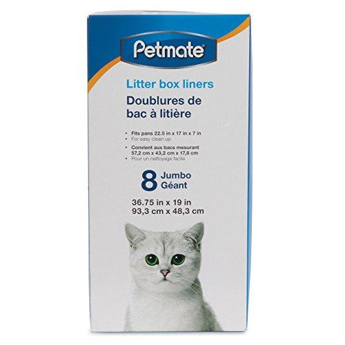 Petmate Jumbo Litter Pan Liners, 8 Pack (Liner Petmate)