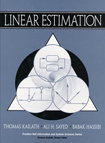 amazon com kailath linear estimation c1 9780130224644 thomas rh amazon com Solving Systems of Equations by Graphing Linear System Examples