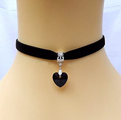 ... fashion double-chain crystal drop and plumage pendant choker ...