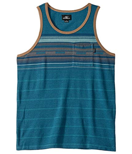 (O'Neill Kids Boy's Wet Blanket Tank Top (Big Kids) Dark Blue)
