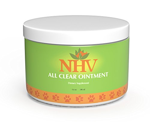 - NHV All Clear Ointment: Rapid, Natural Relief for Skin Disease, Infections, Hot Spots, Dermatis, Burns and Wounds in Cats and Dogs