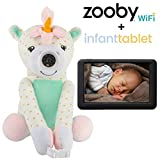 zooby WiFi Portable Baby Monitor and infanttablet Bundle - Award Winning Video Baby Monitor with Smart Tablet Allows Parents to Drive Safely, Keeping Baby in View Without Turning Around (Unicorn)