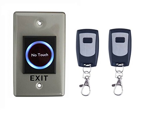 No Touch Infrared Door Exit Push Release Button Switch W/Remote Control for Access Control