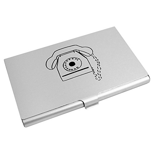 Wallet Card Holder 'Vintage Card Business CH00002127 Azeeda Credit Telephone' wpR14