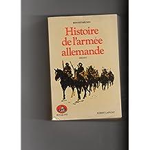 Hist.armee allemande t.1