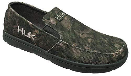 Huk Men's Brewster SubPhantis Loafer Shoes, SubPhantis Southern Tier, Size 11