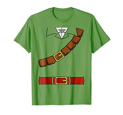 Nintendo Zelda Basic Link Belt and Harness Costume T-Shirt