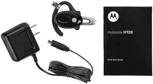 amazon com motorola h720 black bluetooth headset retail packaging rh amazon com Motorola H720 Passcode Motorola H720 Passcode