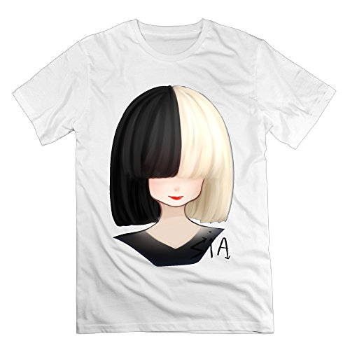 2016 Newest Sia OnlySee Design 100% Cotton T Shirts For Adult (Chandelier Sia Karaoke)