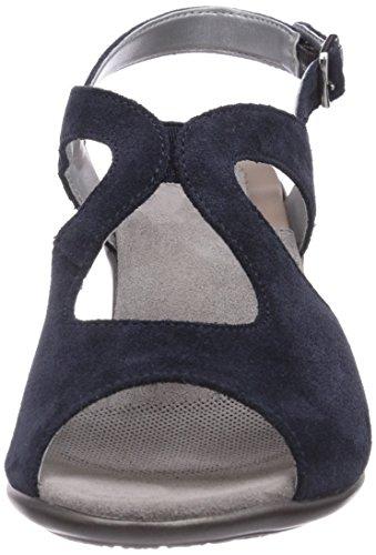 Scholl JOCELYN blue - tacotes de cuero mujer azul - azul