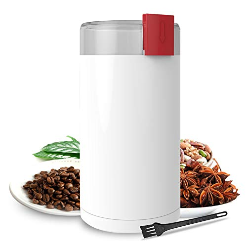 Coffee Grinder, Kaven Electric Coffee Mill with Large Grinding Capacity for Beans, Peppers, Herbs, Spices, Nuts, Grains…