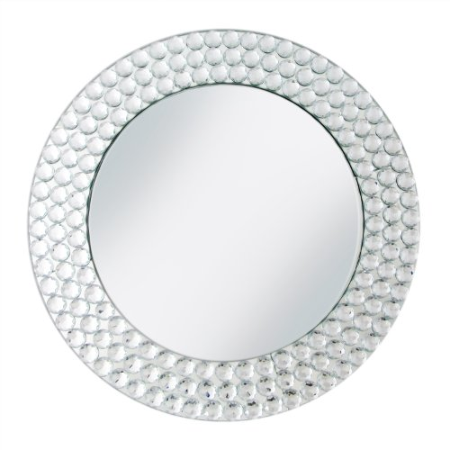 ChargeIt! By Jay Charger Plate with Beads, Mirror Discount Charger Plates