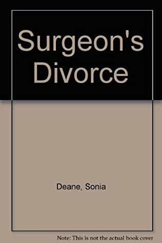 book cover of Surgeon\'s Divorce