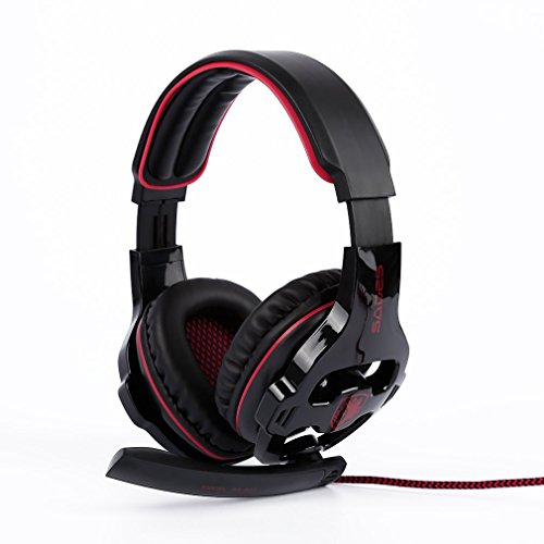 YKS SADES SA903 7.1 Surround Sound USB PC Stereo Gaming Headset with Microphone Volume-Control LED light