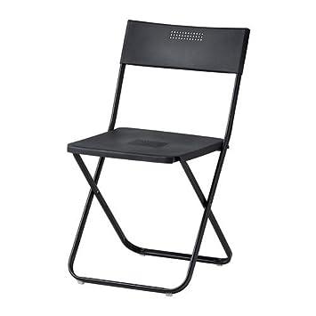 Ikea Fejan - Silla Plegable, Negro: Amazon.es: Hogar