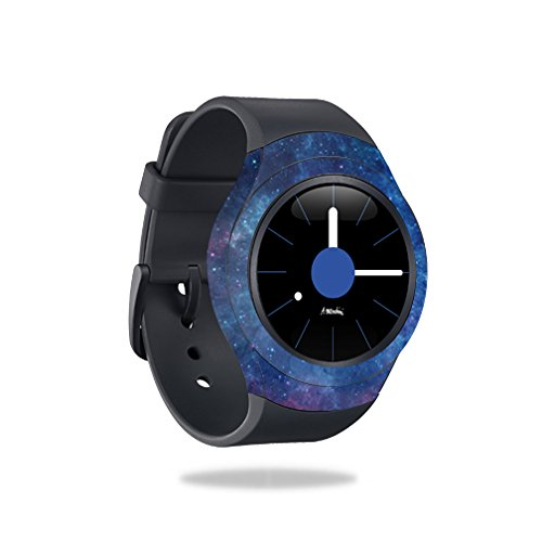 MightySkins Skin Compatible with Samsung Gear S2 Smart Watch Cover wrap Sticker Skins Nebula by MightySkins