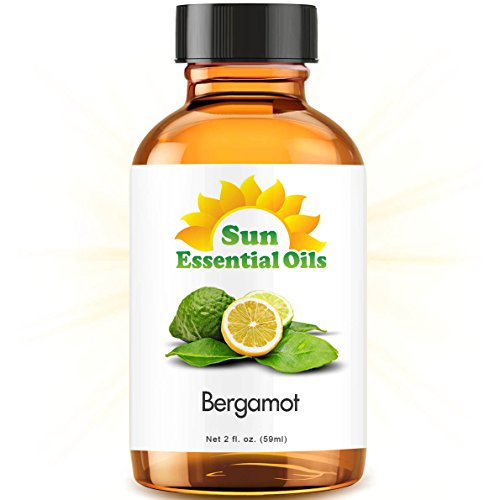 Bergamot (2 fl oz) Essential Oil 100% Pure -- Best 2 ounces (59ml)
